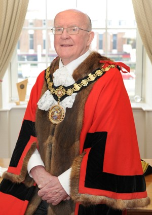 Ceremonial Mayor Councillor Peter Connor
