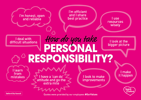 Personal responsibility value