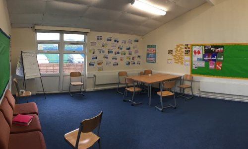 Salford Open Learning classroom
