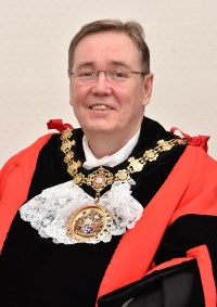 Ceremonial Mayor Charlie McIntyre