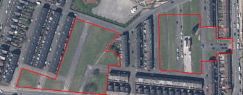 Click to see land on Liverpool Street, Kara Street and Nansen Street, Salford