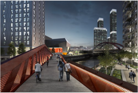St John's to New Bailey Pedestrian and Cycling Bridge