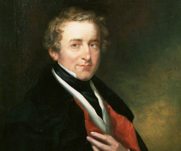 Portrait of Robert Peel