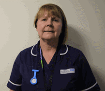 Fiona Reilly, school nurse